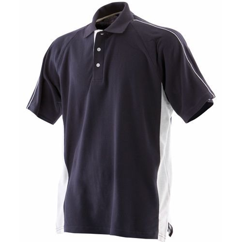 Men`s Sports Polo [XL] (Navy) (Art.-Nr. CA004539)