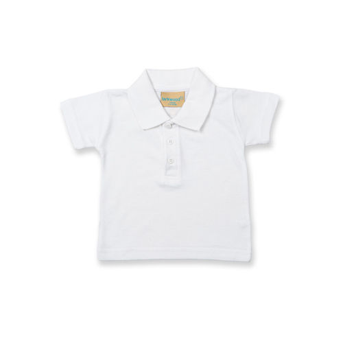 Kids` Polo Shirt [12/18 Monate] (White) (Art.-Nr. CA004714)