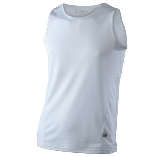 Men`s Running Tank [XL] (White) (Art.-Nr. CA004792)