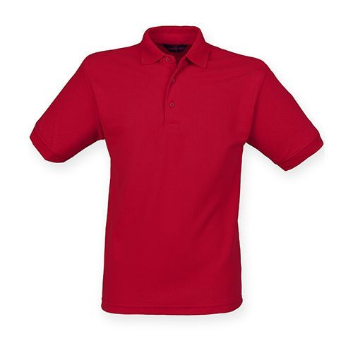 Men`s 65/35 Classic Piqué Polo Shirt [L] (Vintage Red) (Art.-Nr. CA005354)