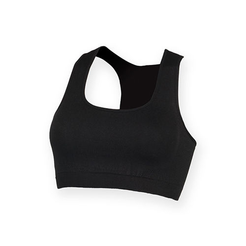 Women`s Work Out Cropped Top [XS] (black) (Art.-Nr. CA005668)