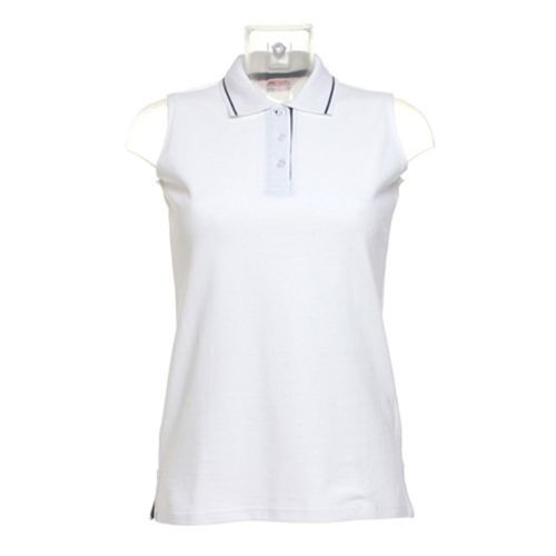 Women`s Classic Fit Proactive Sleeveless Polo [36 (S/10)] (White) (Art.-Nr. CA006020)