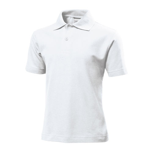 Short Sleeve Polo for children [M (134/140)] (White) (Art.-Nr. CA006333)