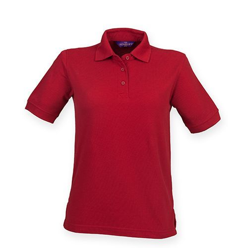 Ladies` 65/35 Classic Piqué Polo Shirt [3XL] (Vintage Red) (Art.-Nr. CA006946)