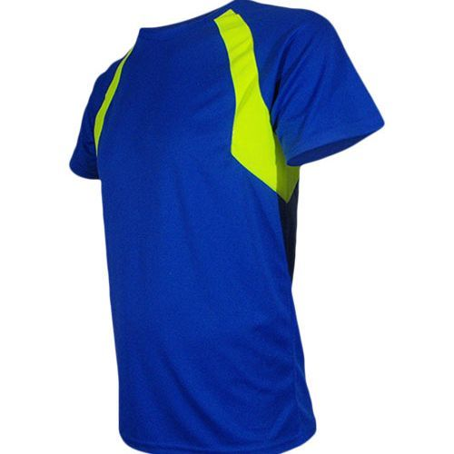 Mens Combi Sport Shirt [S] (Royal Fluor / Yellow Fluor) (Art.-Nr. CA007115)