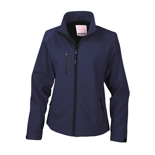 Womens Base Layer Soft Shell Jacket [S] (navy) (Art.-Nr. CA007430)