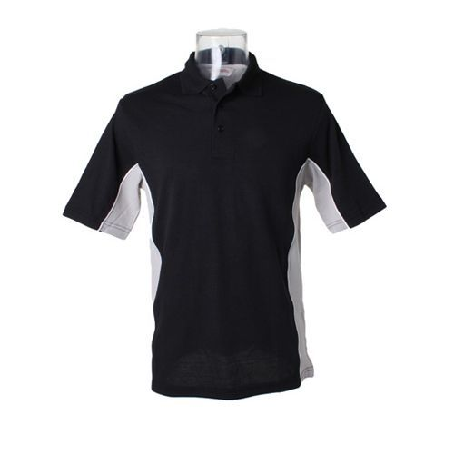 Track Polo [XL] (black / grey (Solid) / white) (Art.-Nr. CA007536)