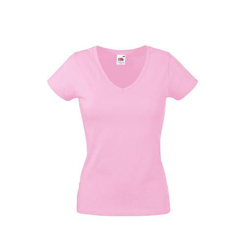 Valueweight V-Neck T Lady-Fit [S] (light pink) (Art.-Nr. CA007588)