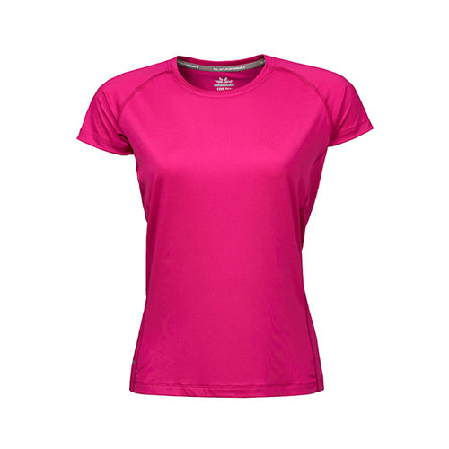 Ladies CoolDry Tee [L] (bright Fuchsia) (Art.-Nr. CA007755)