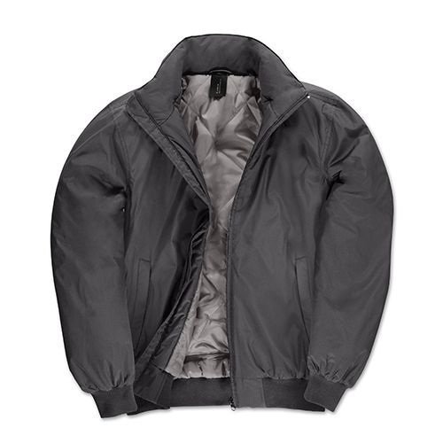 Jacket Crew Bomber /Men [S] (dark grey (Solid) / Warm grey) (Art.-Nr. CA007767)