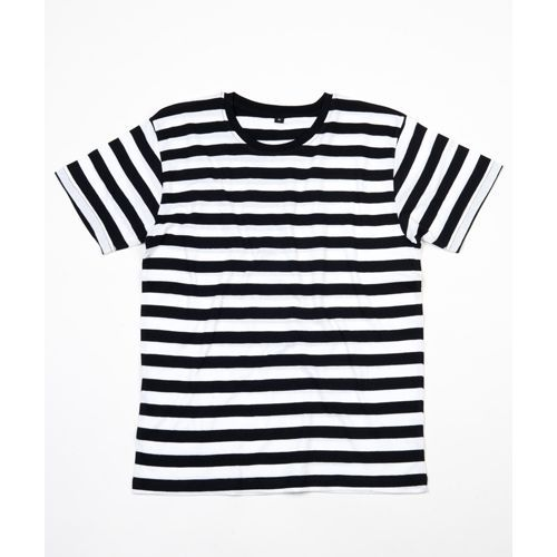 Men´s Stripy T [S] (black / white) (Art.-Nr. CA008169)