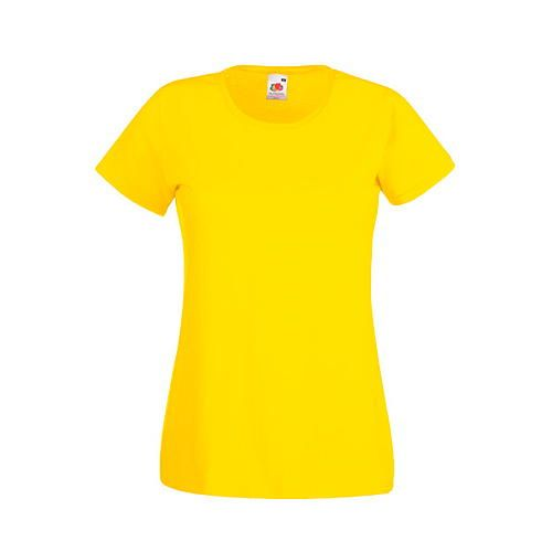 Valueweight T Lady-Fit [S] (yellow) (Art.-Nr. CA008225)
