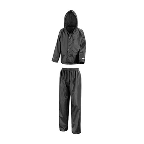 Junior Rain Suit [M (7-8)] (Black) (Art.-Nr. CA008293)