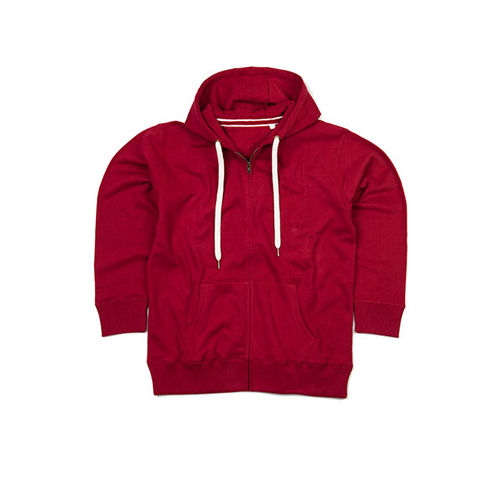 Women`s Superstar Zip Through Hoodie [M] (burgundy) (Art.-Nr. CA008480)