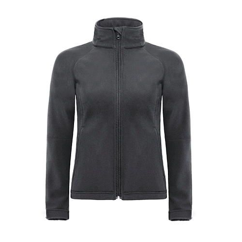 Hooded Softshell / Women [XL] (dark grey (Solid)) (Art.-Nr. CA008772)