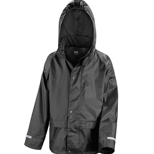 Junior Stormdri Jacket [XL (11-12)] (Black) (Art.-Nr. CA008885)