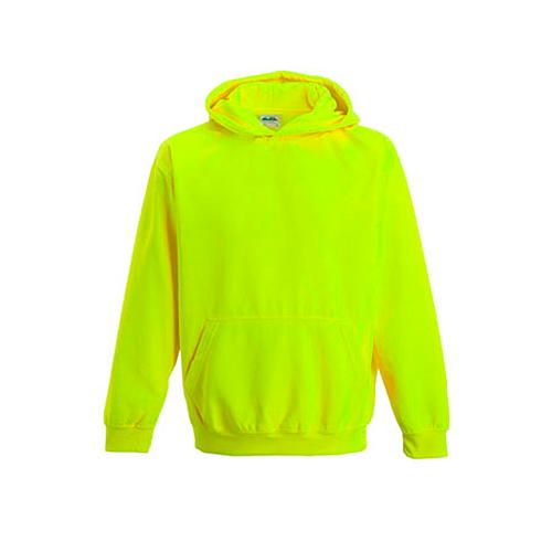 Kids` Electric Hoodie [5/6 (S)] (Electric Yellow) (Art.-Nr. CA009222)