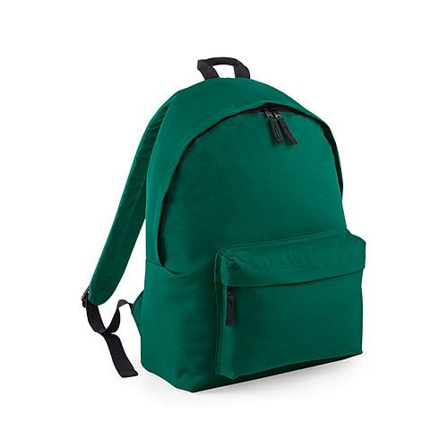 Junior Fashion Backpack [28 x 38 x 19 cm] (bottle green) (Art.-Nr. CA009897)