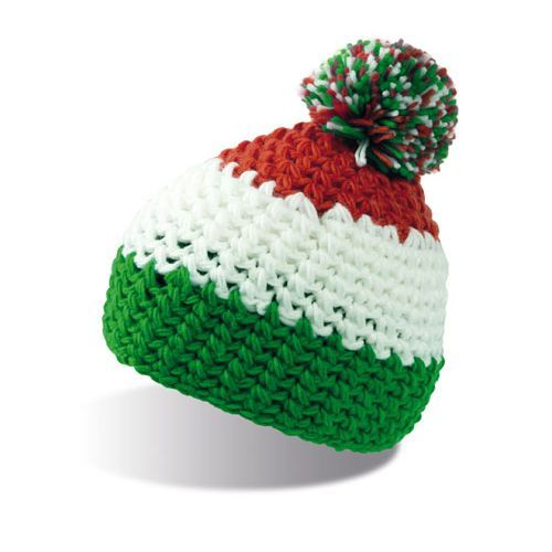 Everest Beanie [One Size] (green / white / red) (Art.-Nr. CA011333)