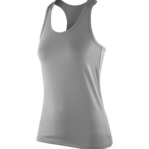Women`s Impact Softex® Top [L (14)] (Cloudy Grey) (Art.-Nr. CA011343)