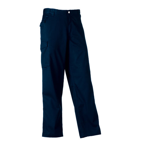 Workwear Polycotton Twill Trousers [38/32] (French Navy) (Art.-Nr. CA011433)