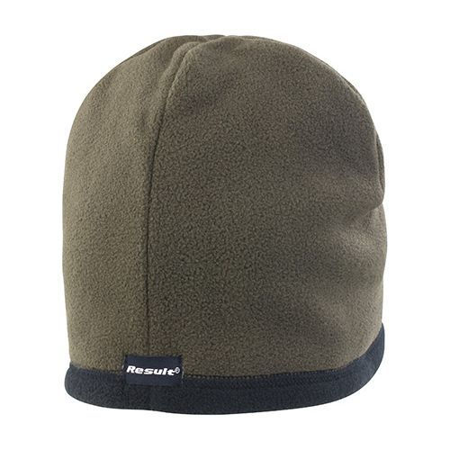 Reversible Microfleece Bob Hat [L] (Olive green) (Art.-Nr. CA012662)