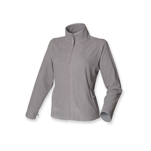 Ladies` Microfleece Jacket [M] (Heather Grey) (Art.-Nr. CA013154)