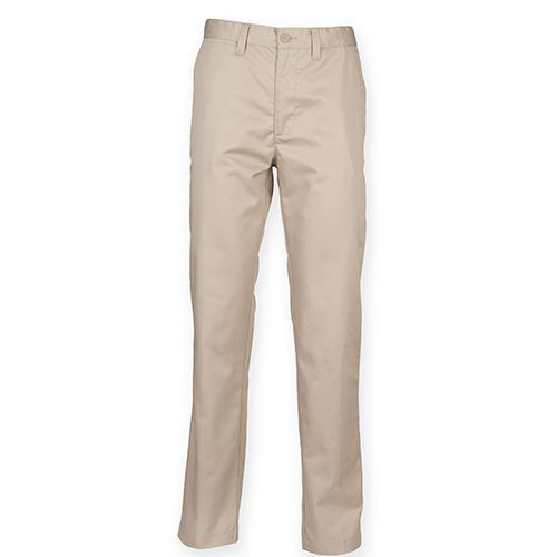 Men's 65/35 Poly/Cotton Chino [40/34] (Stone) (Art.-Nr. CA013487)