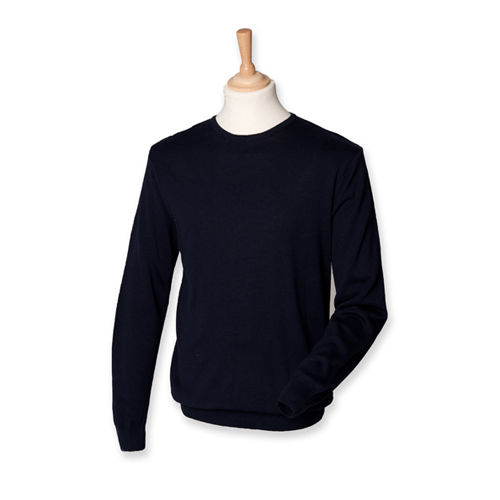 Men`s Lightweight Crew Neck Jumper [M] (Navy) (Art.-Nr. CA014781)