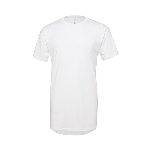 Men's Long Body Urban Tee [XXL] (white) (Art.-Nr. CA015144)