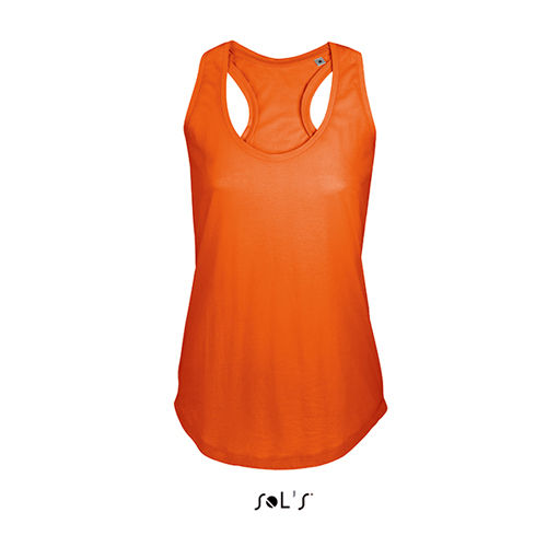 Women T-Back Tank Top Moka [L] (burnt orange) (Art.-Nr. CA015314)