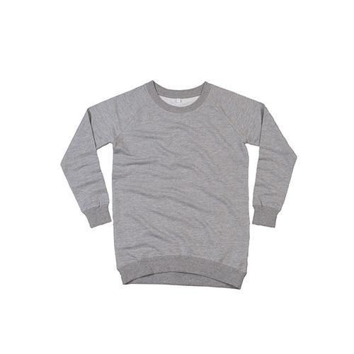 Women`s Long Length Sweat [S] (heather grey Melange) (Art.-Nr. CA016560)