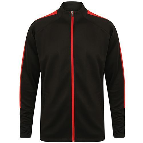 Adults Knitted Tracksuit Top [M] (Black) (Art.-Nr. CA017057)