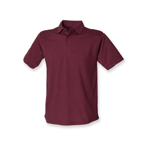 Men`s 65/35 Classic Piqué Polo Shirt [M] (Burgundy) (Art.-Nr. CA019184)