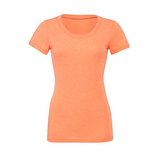 Triblend Crew Neck T-Shirt Woman [S] (orange Triblend (heather)) (Art.-Nr. CA019414)