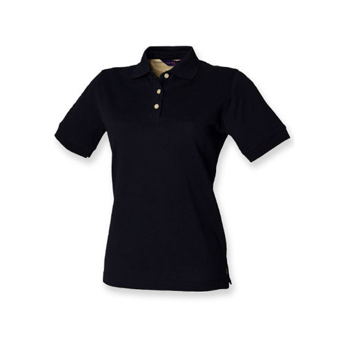 Ladies` Classic Cotton Piqué Polo Shirt [M] (Navy) (Art.-Nr. CA019415)