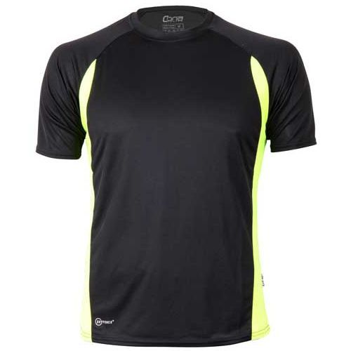 Racer Tech Tee [XS] (black / neon Yellow) (Art.-Nr. CA019840)