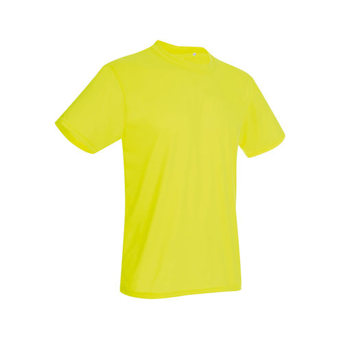 Active Cotton Touch Crew Neck [M] (Cyber yellow) (Art.-Nr. CA021356)