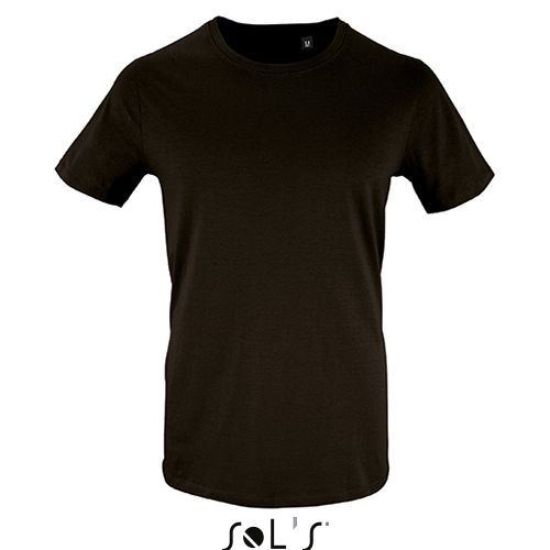 Mens Short Sleeve T-Shirt Milo [3XL] (deep black) (Art.-Nr. CA021636)