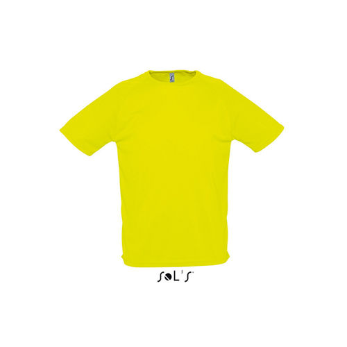 Mens Raglan Sleeves T Sporty [M] (neon yellow) (Art.-Nr. CA021702)