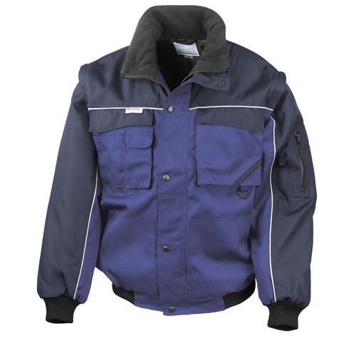 Workguard Heavy Duty Jacket [L] (royal / navy) (Art.-Nr. CA022021)
