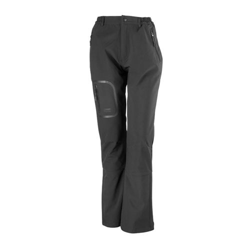 Ladies Soft Shell Trouser La Femme [L (14/40)] (black) (Art.-Nr. CA022502)