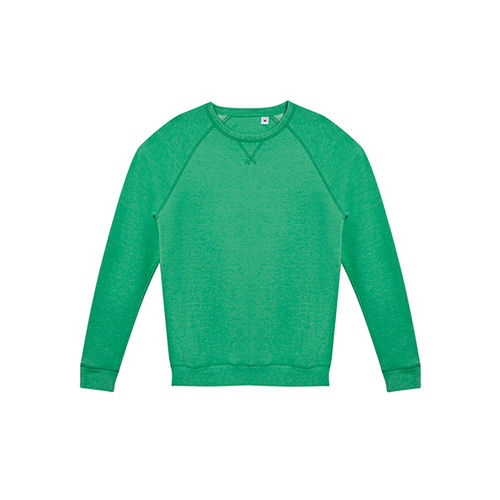 Men`s French Terry Sweatshirt Studio [XXL] (heather green) (Art.-Nr. CA022622)