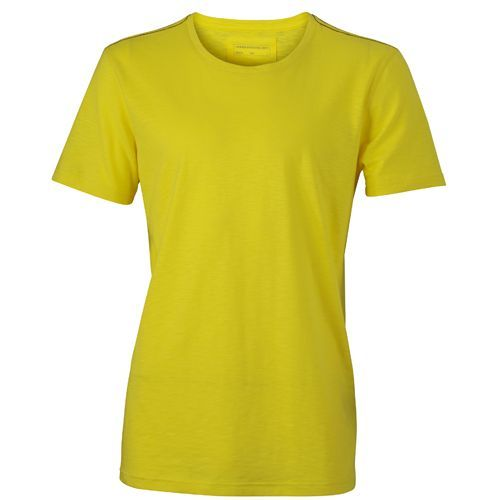 Men´s Urban T-Shirt [3XL] (Yellow / navy) (Art.-Nr. CA022945)