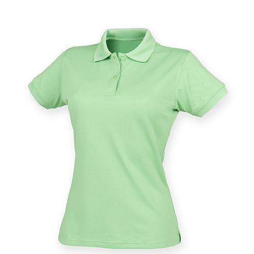Ladies` Coolplus Wicking Polo Shirt [XL] (Lime Green) (Art.-Nr. CA024329)