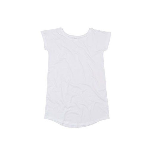 Women`s Loose Fit T Dress [L] (white) (Art.-Nr. CA025464)
