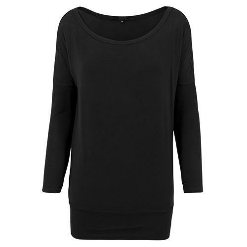 Ladies Viscose Longsleeve [S] (black) (Art.-Nr. CA025729)
