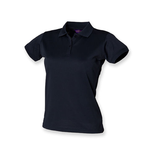 Ladies` Coolplus Wicking Polo Shirt [L] (Navy) (Art.-Nr. CA026097)
