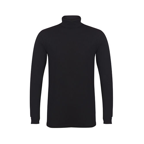 Men`s Feel Good Roll Neck Top [XXL] (black) (Art.-Nr. CA026448)