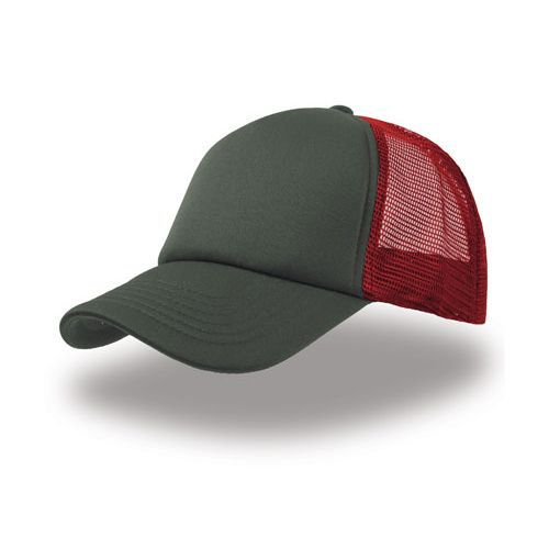 Original Trucker Cap [One Size] (grey / red / grey) (Art.-Nr. CA026540)